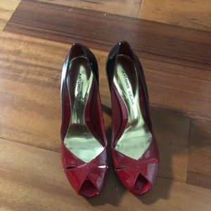Gently used red heels